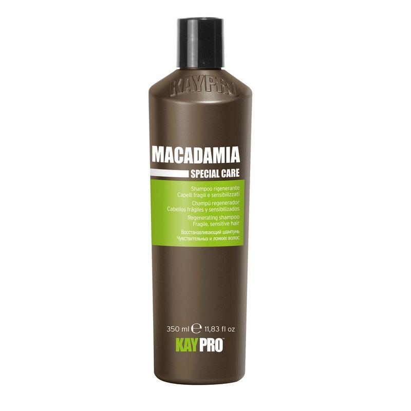 kaypro шампунь macadamia KAYPRO Шампунь Macadamia Увлажняющий с Маслом Макадамии, 350 мл