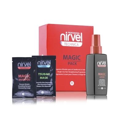 Nirvel Professional Комплекс Magic Pack для Выпрямления Волос Одноразового Использования