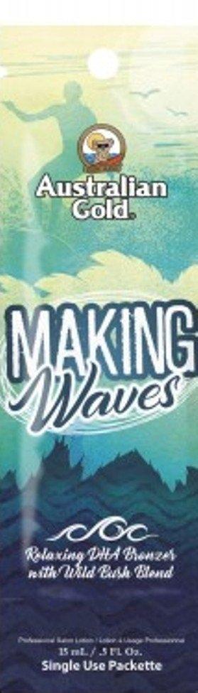Australian Gold Активный Ускоритель Загара с Бронзирующим Комплексом и Расслабляющим Эффектом Making Waves, 15 мл