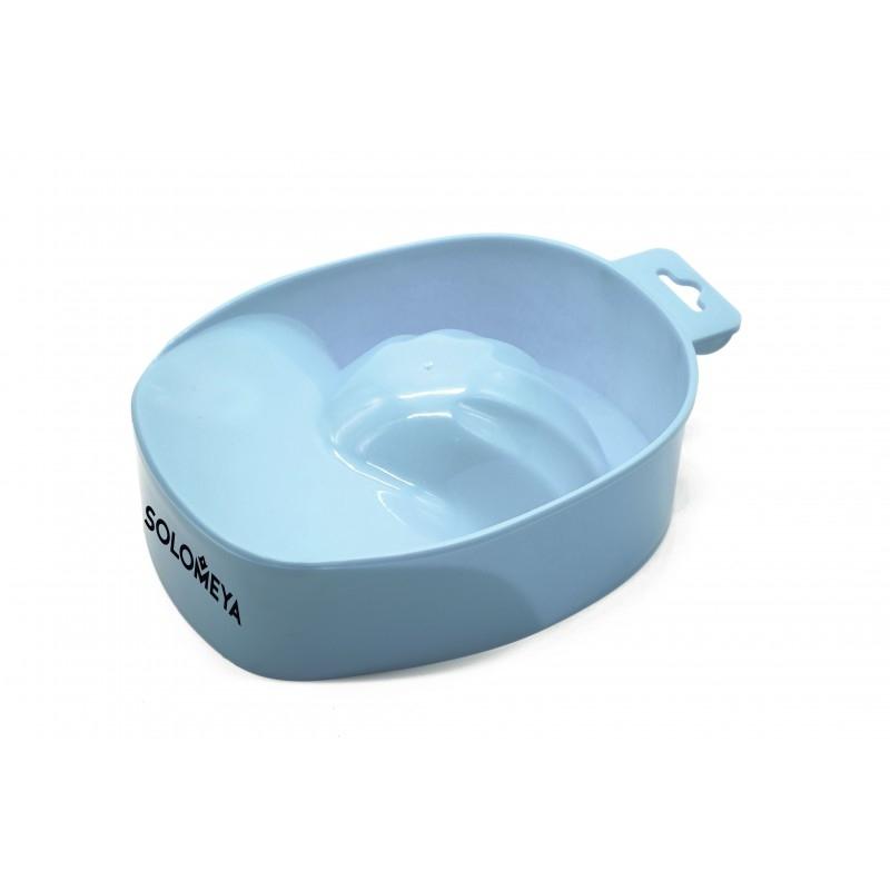 Solomeya Ванночка Manicure Bowl Blue Sky для Проведения Процедуры Маникюра Голубое Небо
