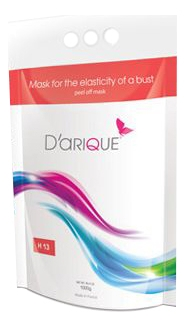 Darique Маска Mask For The Elasticity Of a Bust Peel Off для Тела Упругости Бюста, 500г