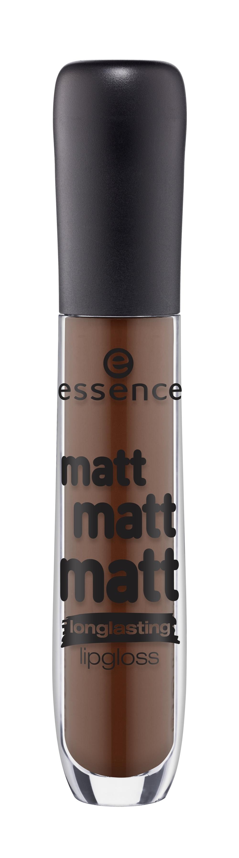 Essence Блеск для Губ Matt Matt Matt тон 09 Шоколадный недорого