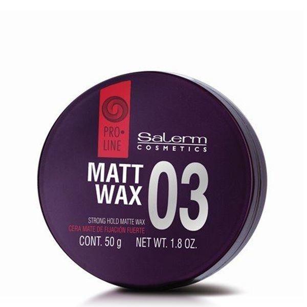 Salerm Cosmetics Воск Matt Wax Матирующий Сильной Фиксации, 50 мл