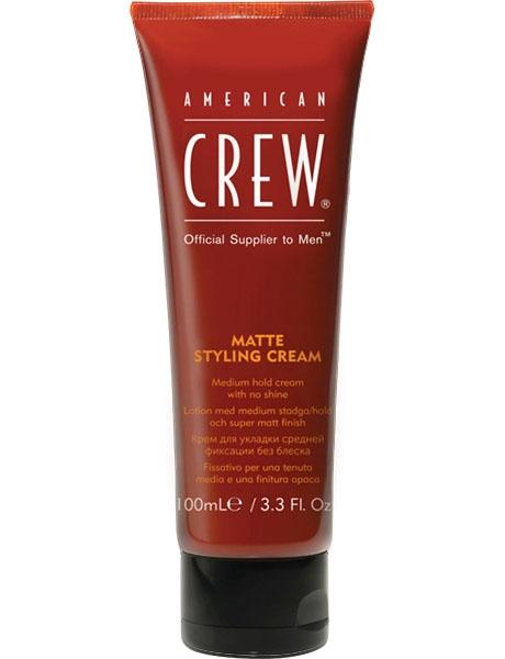 American Crew Крем для Укладки Средней Фиксации без Блеска Matte Styling Cream, 100 мл