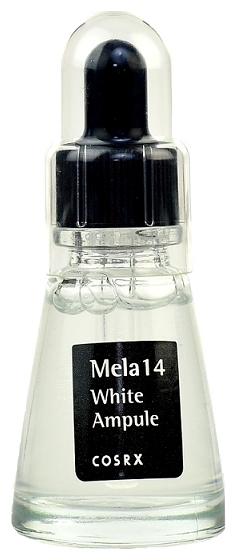 Cosrx Ампульная Сыворотка против Пигментации для Отбеливания Кожи Mela 14 White Ampule, 20 мл