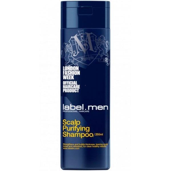 Label.m Шампунь Men Scalp Purifying Shampoo для Очищения Кожи Головы, 250 мл недорого