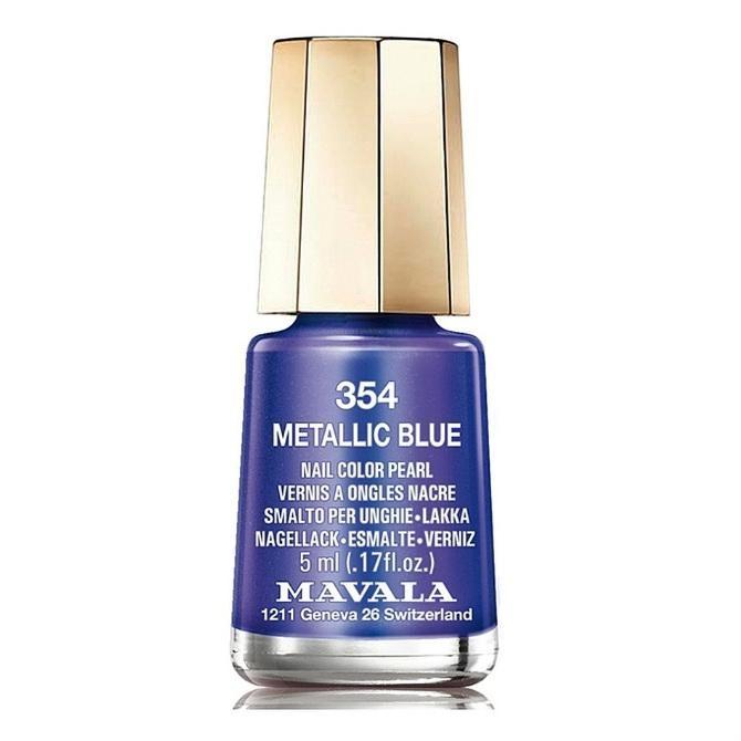 Mavala Лак Metallic Blue 9091354 для Ногтей Синий Кобальт, 5 мл