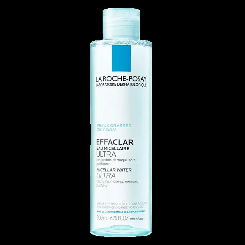 La Roche Posay Раствор Micellar Water Мицеллярный Очищающий Эфаклар, 200 мл