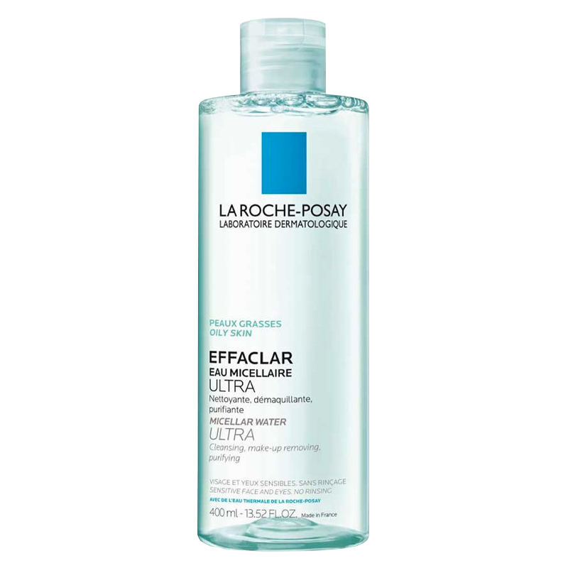 La Roche Posay Раствор Micellar Water Мицеллярный Очищающий Эфаклар, 400 мл