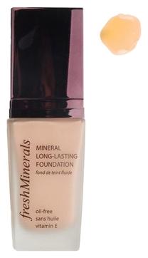 FreshMinerals Стойкая Тональная Основа под Макияж Mineral Long Lasting  Foundation Second Skin, 30 мл