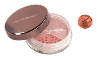 FreshMinerals Рассыпчатые Румяна Mineral loose blush Silky, 2г