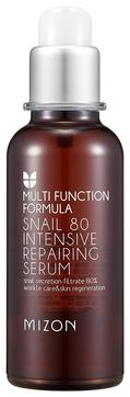 MIZON Сыворотка Multi Function Formula Snail 80 Intensive Repairing Serum Концентрированная с Муцином Улитки, 50 мл