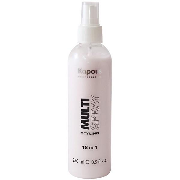 Kapous Мультиспрей Multi Spray Styling для Укладки Волос 18 в 1, 250 мл мультиспрей для укладки волос kapous professional multi spray 18 в 1 250 мл