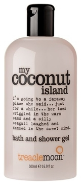 Treaclemoon Гель My Coconut Island Bath & Shower Gel для Душа Кокосовый Рай, 500 мл ким харрисон black magic sanction