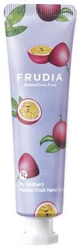 Frudia Крем My Orchard Passion Fruit Hand Cream Увлажняющий для Рук c Маракуйей, 30г frudia увлажняющий крем для рук c лимоном my orchard lemon hand cream 30 г