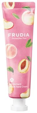 Frudia Крем My Orchard Peach Hand Cream Увлажняющий для Рук c Персиком, 30г frudia увлажняющий крем для рук c лимоном my orchard lemon hand cream 30 г