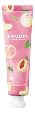 Frudia Крем My Orchard Peach Hand Cream Увлажняющий для Рук c Персиком, 80г