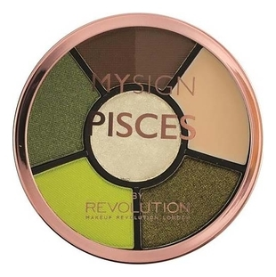 Makeup Revolution Палетка для Макияжа Глаз My Sign Complete Eye Base  Pisces, 1 шт
