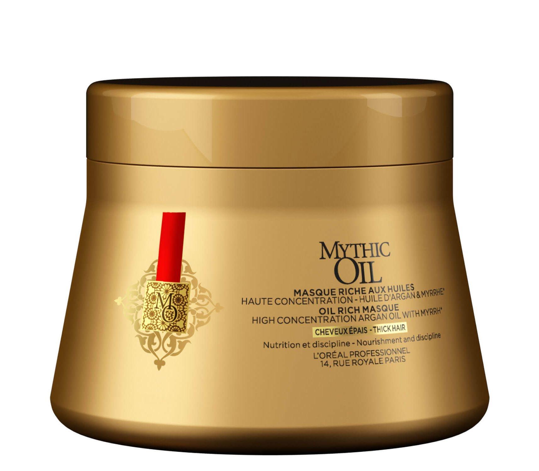 L'Oreal Professionnel Маска Mythic Oil для Плотности Волос, 200 мл