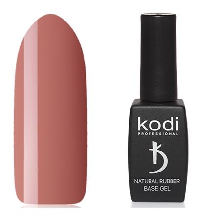 Kodi Professional Гель Natural Rubber Base Цветной Базовый Dark beige, 12 мл