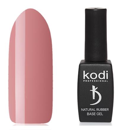 Kodi Professional Гель Natural Rubber Base Цветной Базовый Tea Rose, 12 мл