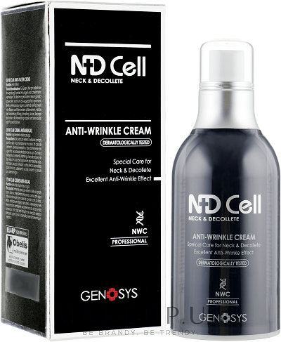 Genosys Крем NDCell Anti-Wrinkle Cream Антивозрастной для Шеи и Зоны Декольте, 50 мл genosys крем ndcell anti wrinkle cream антивозрастной для шеи и зоны декольте 50 мл