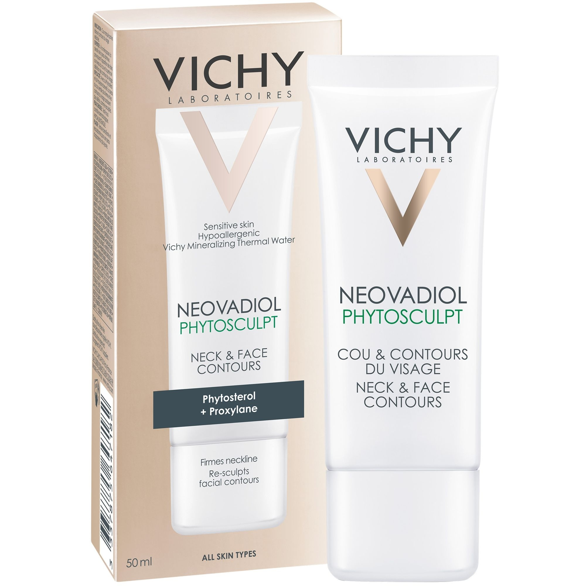 VICHY Крем Neovadiol Phytosculpt для Зоны Шеи и Декольте Невоадиол Фитоскульпт, 50 мл vichy neovadiol night