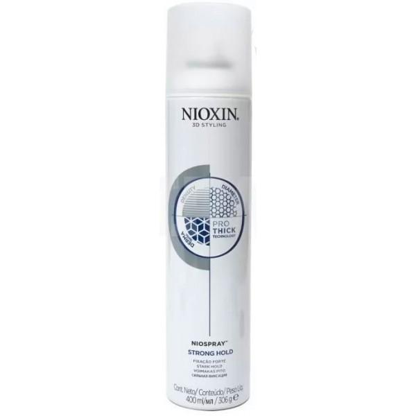 NIOXIN Лак Niospray Strong Hold для волос сильной фиксации , 400 мл недорого