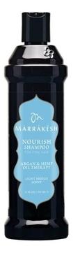 Marrakesh Шампунь Nourish Shampoo Light Breeze Супер Объем, 355 мл