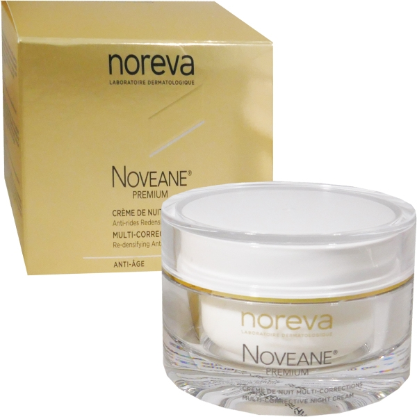 Noreva Крем Noveane Premium Мультифункциональный Антивозраст Ночной для Лица Баночка, 50 мл