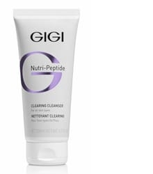 GIGI Гель NP Clearing Cleanser Пептидный Очищающий, 200 мл пептидный очищающий гель 200 мл gigi nutripeptide