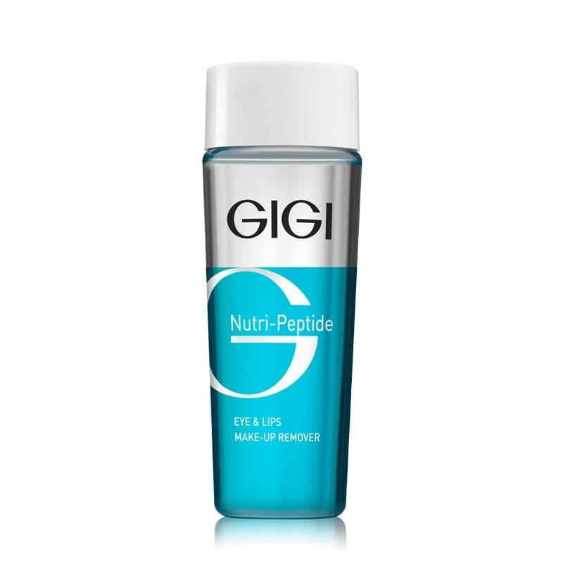 GIGI Жидкость для Снятия макияжа пептидная NP Eye & Lips MakeUp Remover, 100 мл