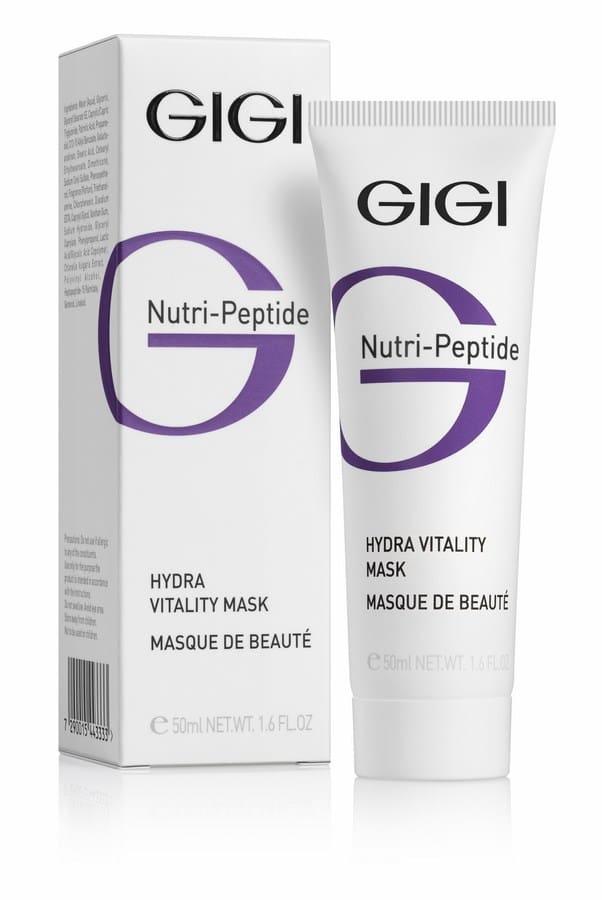 GIGI Пептидная увлажняющая маска красоты NP Hydra Vitality Beauty Mask, 50 мл увлажняющая маска с алоэ
