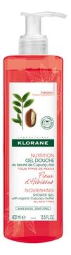 Klorane Гель Nutrition Gel Douche Fleur d'Hibiscus для Душа Цветок Гибискуса, 400 мл