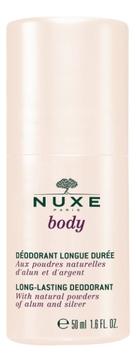 NUXE Дезодорант Nuxe Body Ролик Боди, 50 мл biosecure дезодорант ролик алоэ вера и бергамот 50 мл