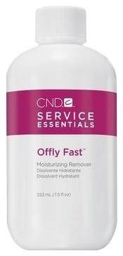 CND Жидкость Offly Fast Питательная для Удаления Искусственных Покрытий, 222 мл
