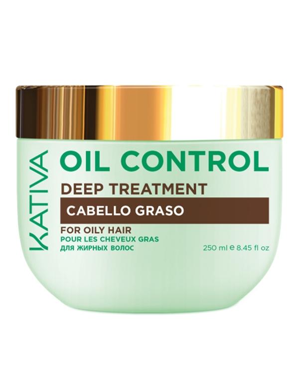 Kativa Маска Oil Control Контроль Интенсивный Уход для Жирных Волос, 250 мл