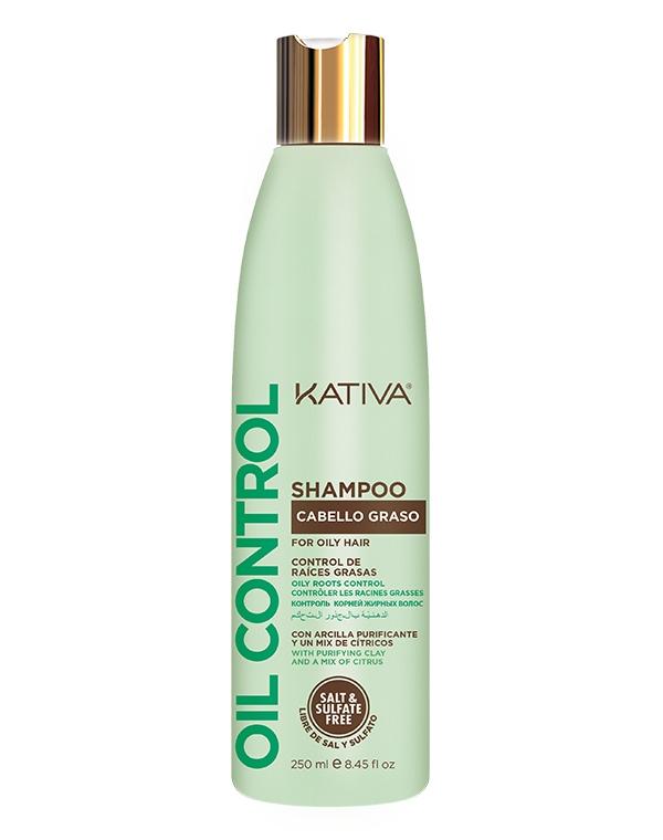 Kativa Шампунь Oil Control Контроль для Жирных Волос, 250 мл шампунь от жирных волос