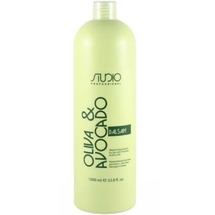 Kapous Бальзам Olive and Avocado Увлажняющий для Волос с Маслами Авокадо и Оливы, 1000 мл недорого