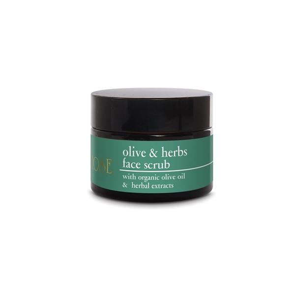 Yellow Rose Скраб Olive & Herbs Face Scrub для Лица с Оливковым Маслом и Растительными Экстрактами, 50 мл
