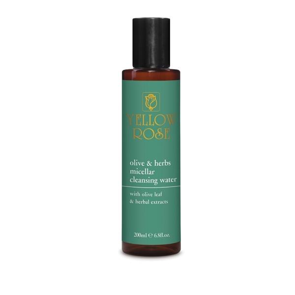 цена на Yellow Rose Вода Olive & HerbsMicellar Cleansing Water Очищающая Мицеллярная с Листьями Оливы, 200 мл