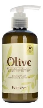 FarmStay Лосьон Olive Moisture Balancing Body Lotion Увлажняющий для Тела с Экстрактом Оливы, 250 мл масло для тела dalan d olive oil olive body butter 250 мл