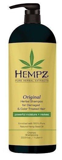 HEMPZ Шампунь Original Herbal Shampoo For Damaged & Color Treated Hair Растительный Оригинальный для Поврежденных Окрашенных Волос, 1000 мл revlon шампунь anifading shampoo анти вымывание цвета без сульфатов 1000 мл