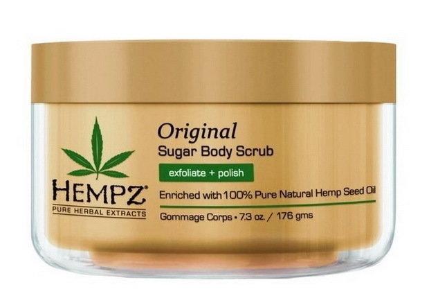 HEMPZ Скраб Original Herbal Sugar Body Scrub для Тела Оригинальный, 176гр цена 2017