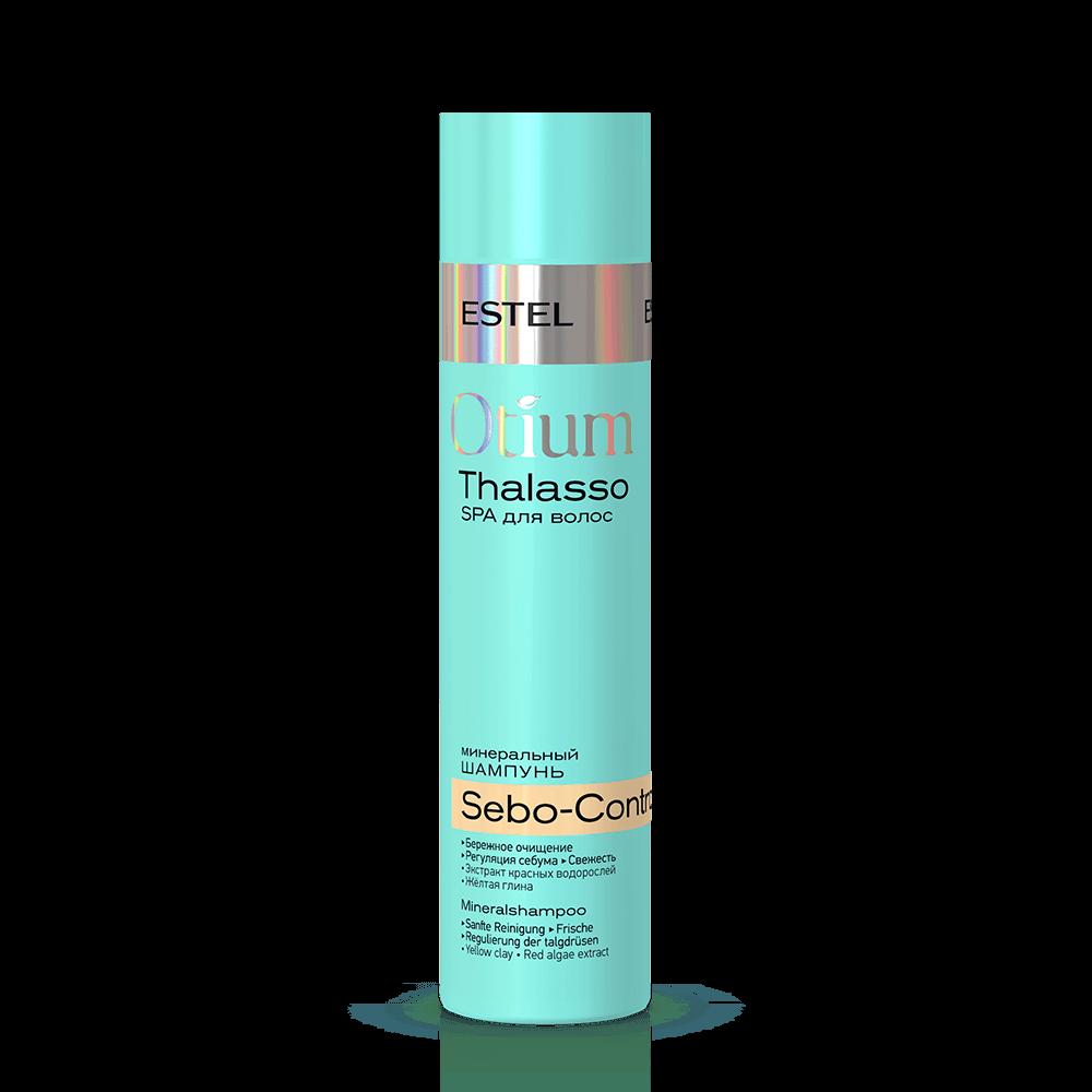 ESTEL Шампунь Otium Thalasso Sebo-Control Минеральный для Волос, 250 мл