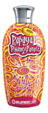 Supertan Активатор Загара Papaya & Pomegranate с 3 бронзаторами, 2 проявителями и Формулой против Старения, 15 мл