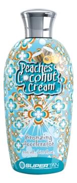 Supertan Активатор Загара Peaches & Coconut Cream Персик и Сливки, Три Проявителя , 200 мл