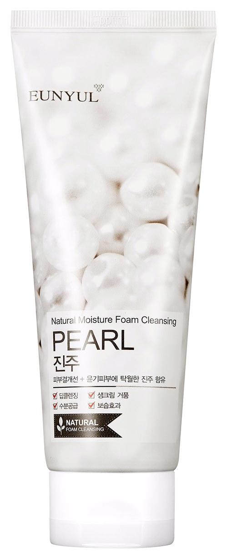 Eunyul Пенка Очищающая с Жемчужной Пудрой Pearl Foam Cleansing, 150 мл