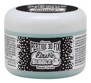 Elizavecca Крем Peptide 3D Fix Elastic Bubble Facial Cream Пептидный Кислородный, 100г