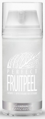PREMIUM Пилинг Perfect Fruit Peel с Фруктовыми Кислотами, 100 мл гель эксфолиант для тела с фруктовыми кислотами fruit peel 150 мл